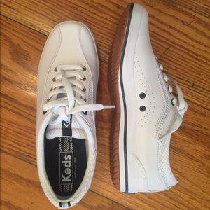 NWOT Keds Leather Sneaker, White